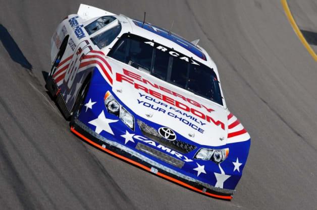 Leilani Munter Energy Freedom race car