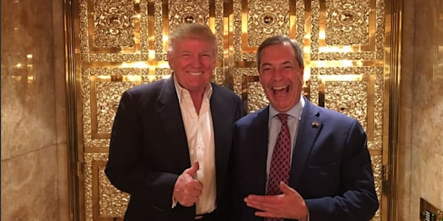 Idea That Farage Is Lynchpin Of UK/US Relationship Is Ridiculous