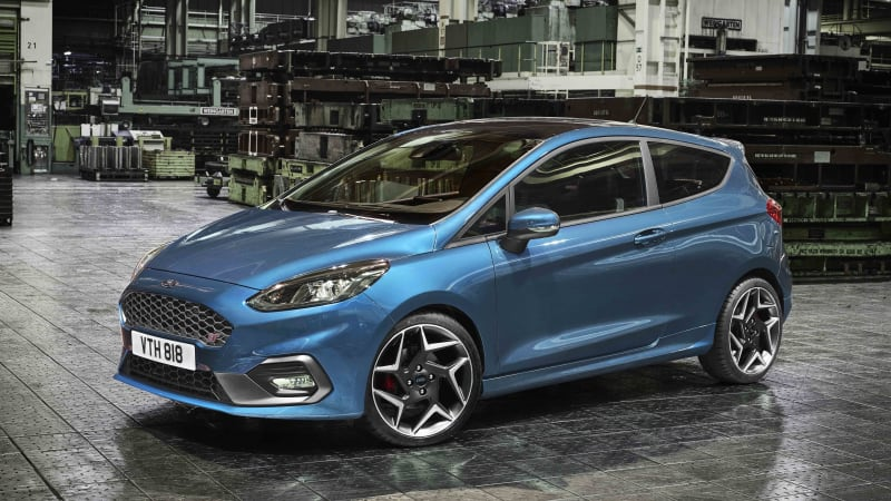 The new Ford Fiesta ST is a three-cylinder speed machine