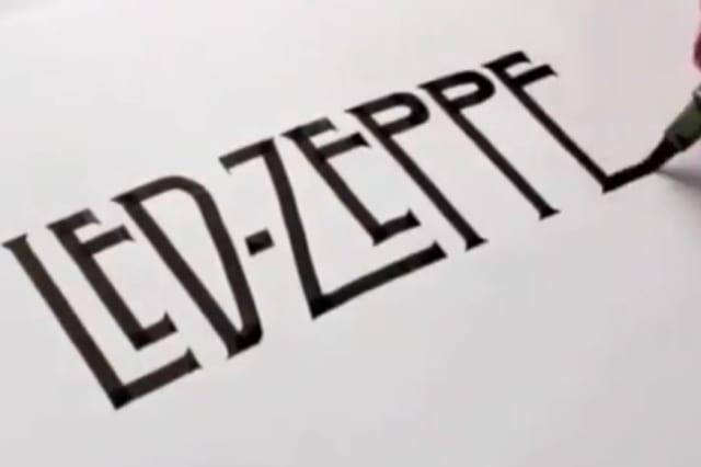 Artist recreates iconic logos using calligraphy aol uk money