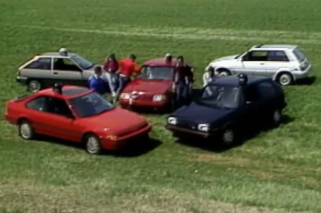 Motorweek 1986 Hot Hatch Test