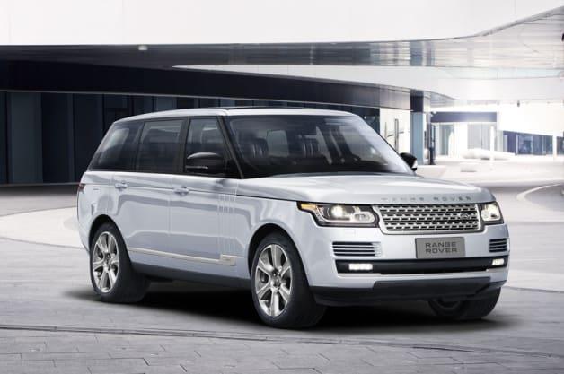 Land Rover Range Rover Long Wheelbase Hybrid