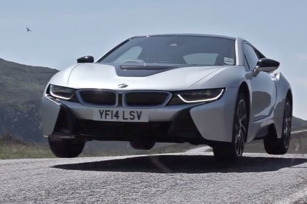 EVO takes flight in BMW's sultry i8