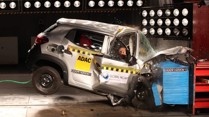 Watch Indian cars fail Global NCAP crash tests miserably