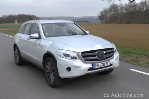 Mercedes-Benz, Mercedes-Benz GLC, Mercedes-Benz GLK, erlkönig, spy shot, x205, x 205, Mercedes GLC, GLK, facelift, mopf, glc, erlkönig Marken