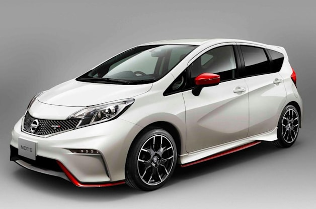 nissan note getting a little louder with nismo versions. Black Bedroom Furniture Sets. Home Design Ideas