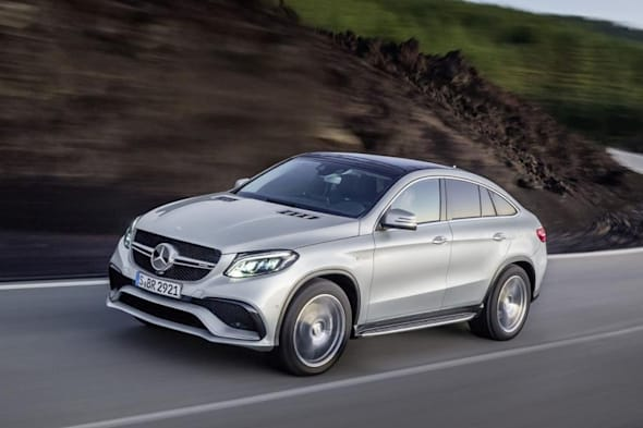 Debüt in Detroit: Mercedes-AMG GLE63 Coupé