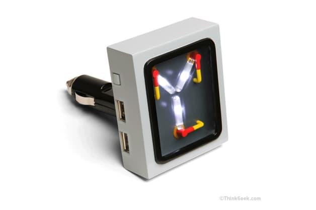 Think Geek flux capacitor