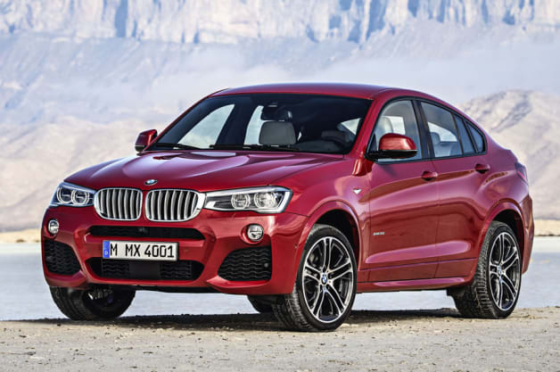 BMW X4 order guide sneaks onto the web