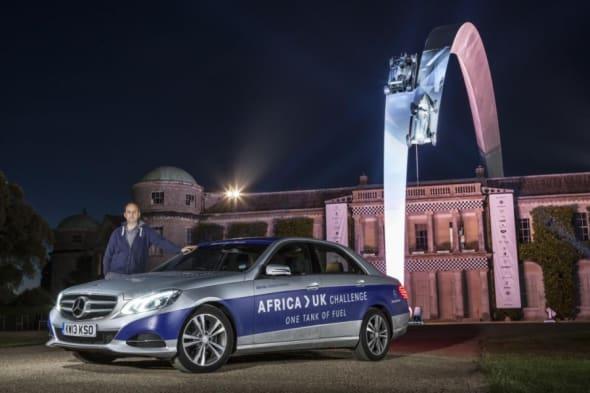 Mercedes E300 BlueTec HYBRID , Mercedes-Benz, Rekordfahrt, Goodwood, Fos, sparsam, effizienz, spritsparen, kraftstoff sparen, afrika uk challenge, sparsam, Mercedes-Benz E300 BlueTec Hybrid, Mercedes Hybrid, hybrid