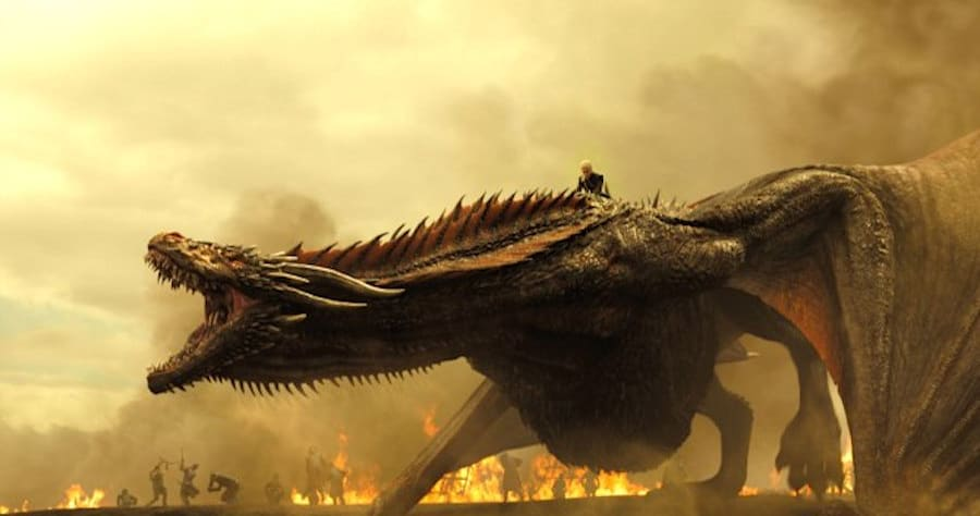 Game of ThronesTKSeason 7, Episode TKAir Date: TKEmilia Clark as Daenerys Targaryen and a Dragon