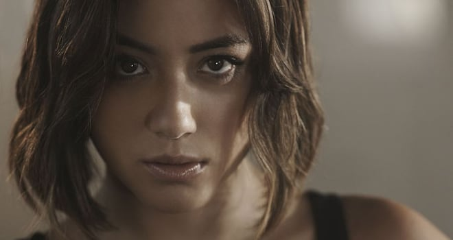 Chloe Bennet in AGENTS OF SHIELD