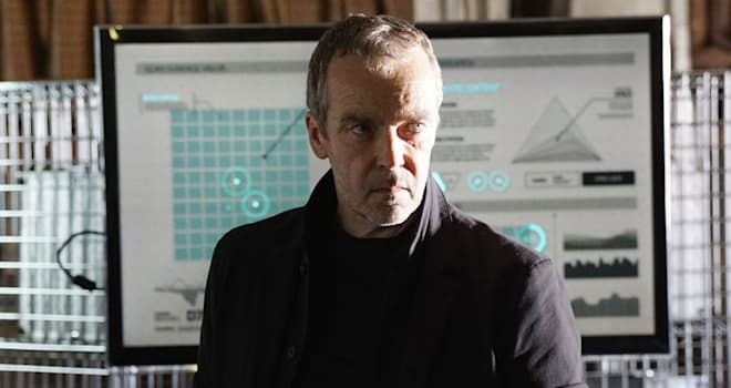 John Hannah in AGENTS OF SHIELD