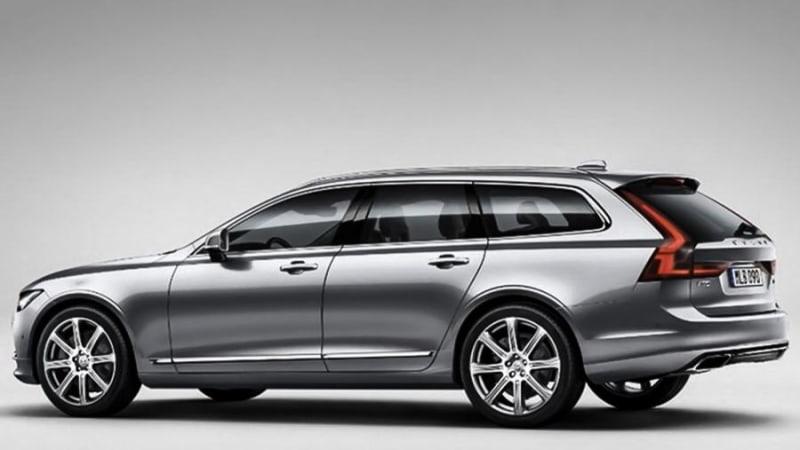 Volvo V90 wagon looks great in early leak