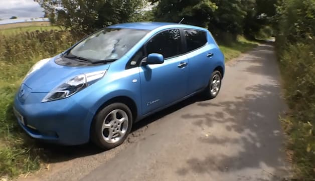 Fully Discharged Nissan Leaf Battery Test