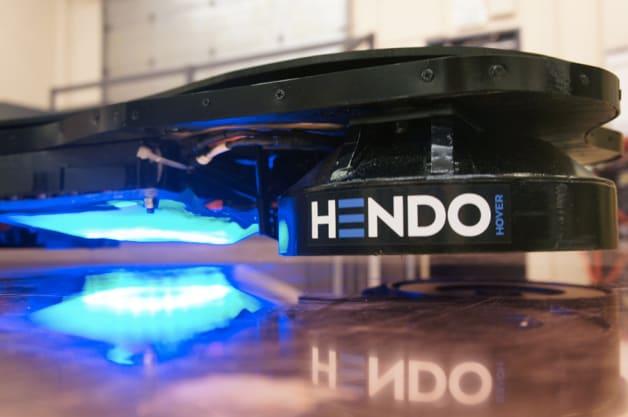 Hendo Hoverboard prototype