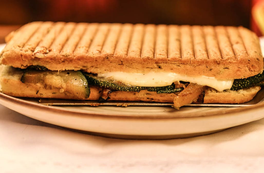 Grilled Vegetable Panini - AOL.com