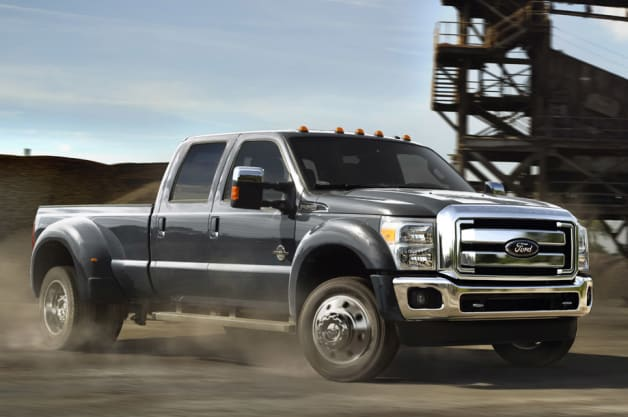 Ford makes updates to Power Stroke diesel V8, strengthens the F-450 and makes cosmetic changes to the King Ranch Edition.