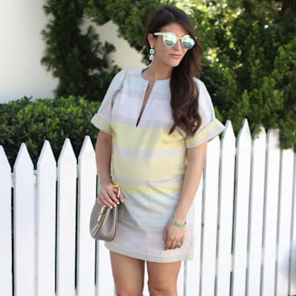 Street style tip of the day: Summer stripes