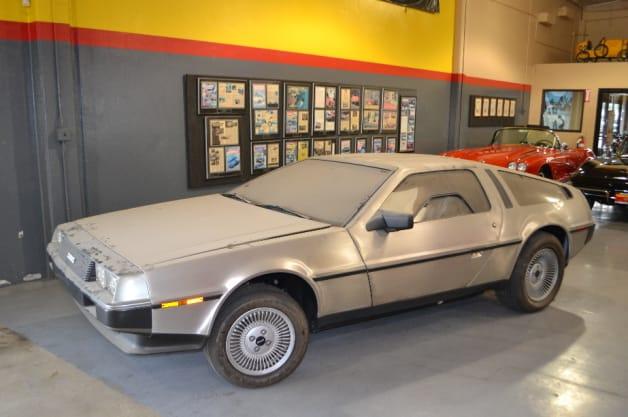DeLorean DMC-12 Time Capsule
