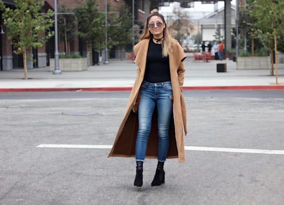 Camel is the new color of the season