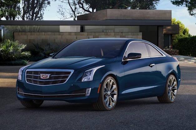 2015 Cadillac ATS Copue