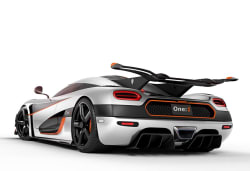 Koenigsegg Agera One:1 rear
