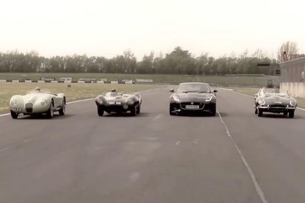 Jaguar sports car history