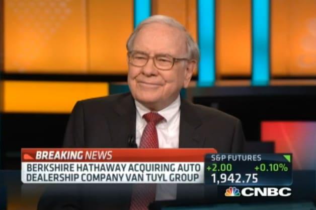 Buffet buys Van Tuyl Group