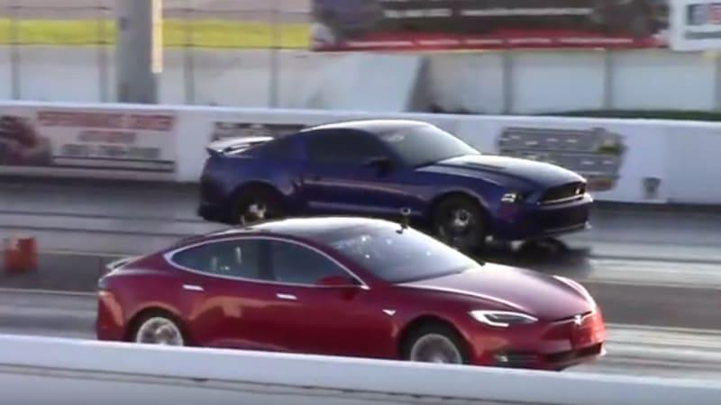 Recharge Wrap-up: Tesla Model X crash, Model S vs. Mustang, Camaro, Z06