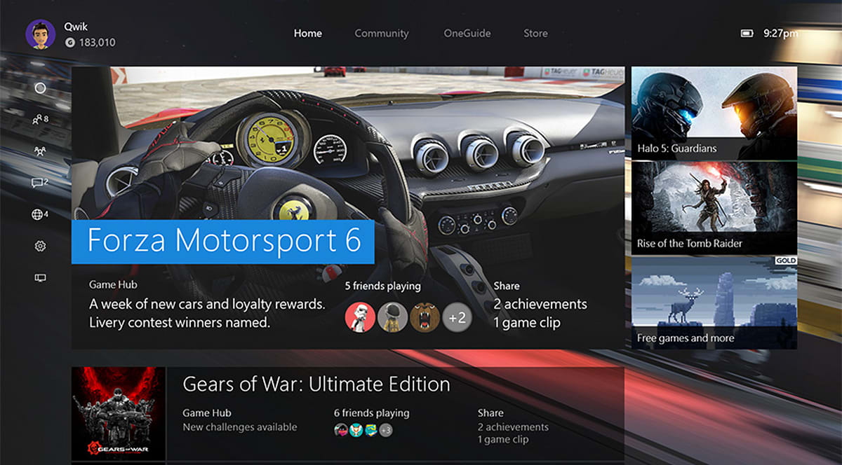 November's Xbox One update boosts speed and social