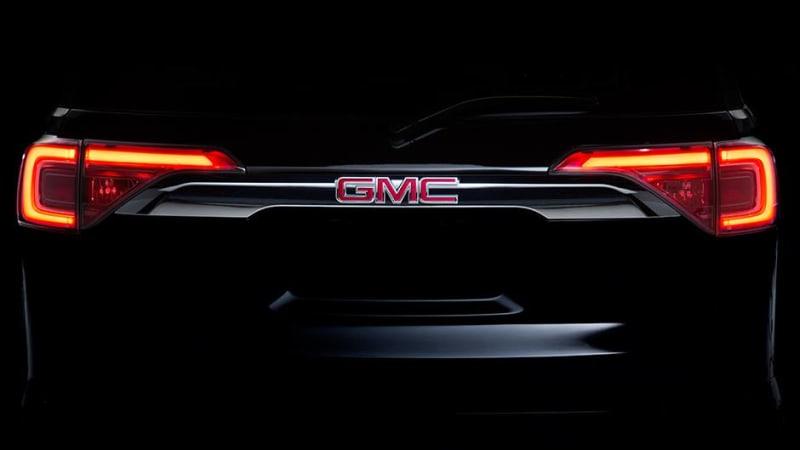 2017 GMC Acadia coming to Detroit Auto Show