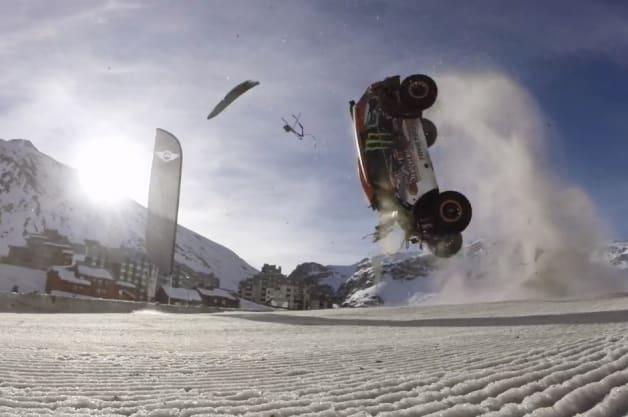 world record attempt crash