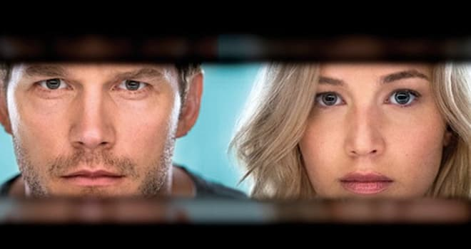 Passengers trailer: Chris Pratt and Jennifer Lawrence embark on a cosmic journey