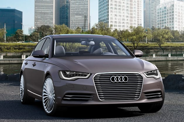 Audi and FAW to launch A6 E-Tron in China