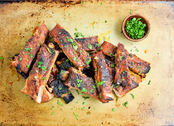 Try these: Grilled sweet and spicy St. Louis style ribs