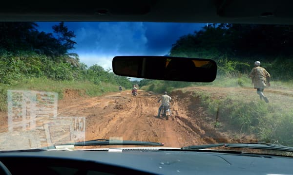 Poor Roads Hinder Reporting