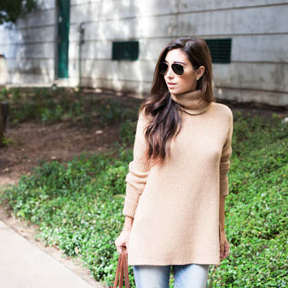 Fall trend to try: The turtleneck sweater