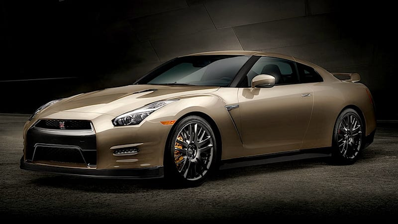 2016 Nissan GT-R gets 45th Anniversary Gold Edition