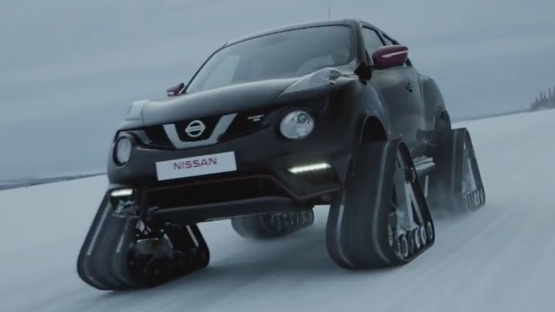 Nissan Juke Nismo RSnow is just the ticket for the next Snowpocalypse