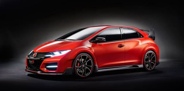 Honda Civic Type R Concept hits the ground running ahead of Geneva debut