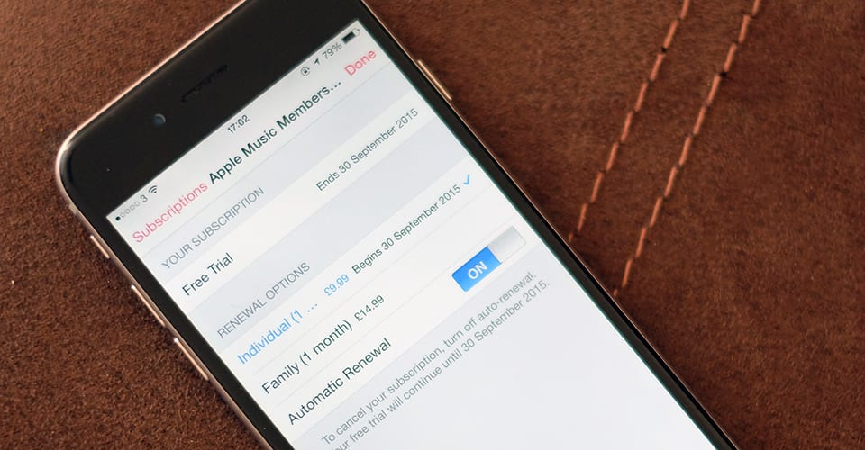 PSA: Disable Apple Music's auto-renewal to try it worry-free