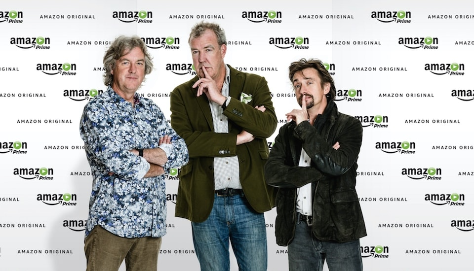 Apple reportedly bid for Clarkson and 'Top Gear' co-stars