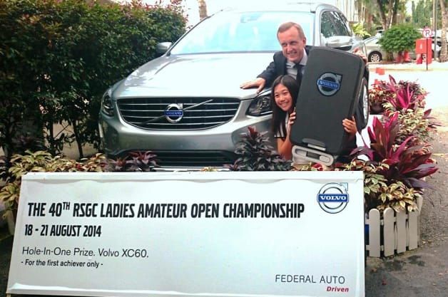 Report: 12-year-old golfer wins Volvo for hole-in-one [w/video]