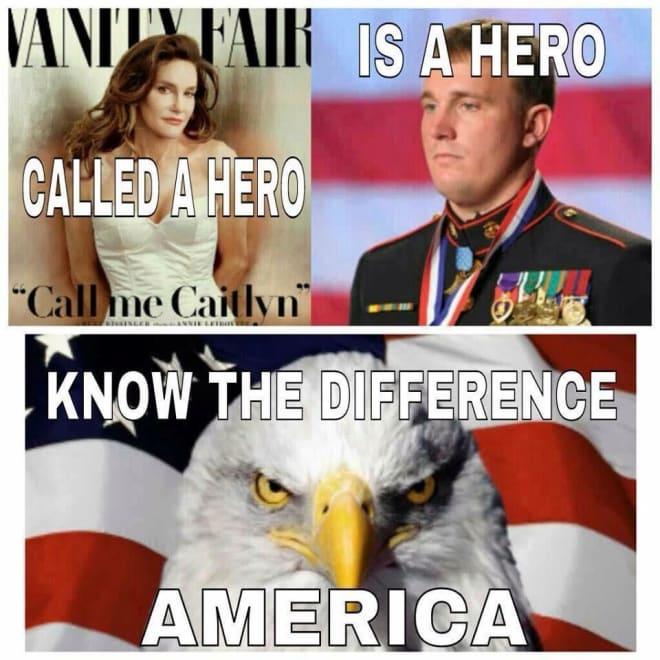 Caitlyn Jenner hero