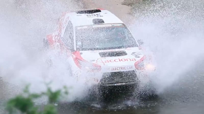 An EV has completed the Dakar Rally for the first time