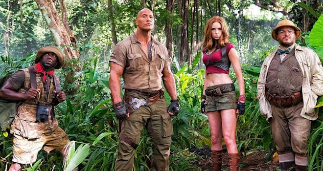 'Jumanji' Star Karen Gillan Promises There's a Reason for Her Skimpy Costume