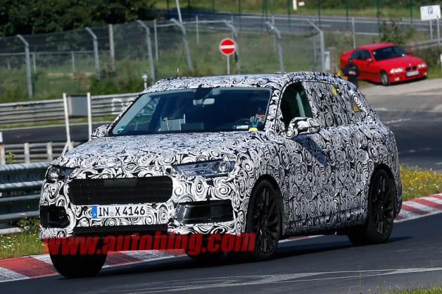 Audi Q7 PHV: Spy Shots
