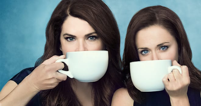 gilmore girls, a year in the life, coffee cup, alexis bledel