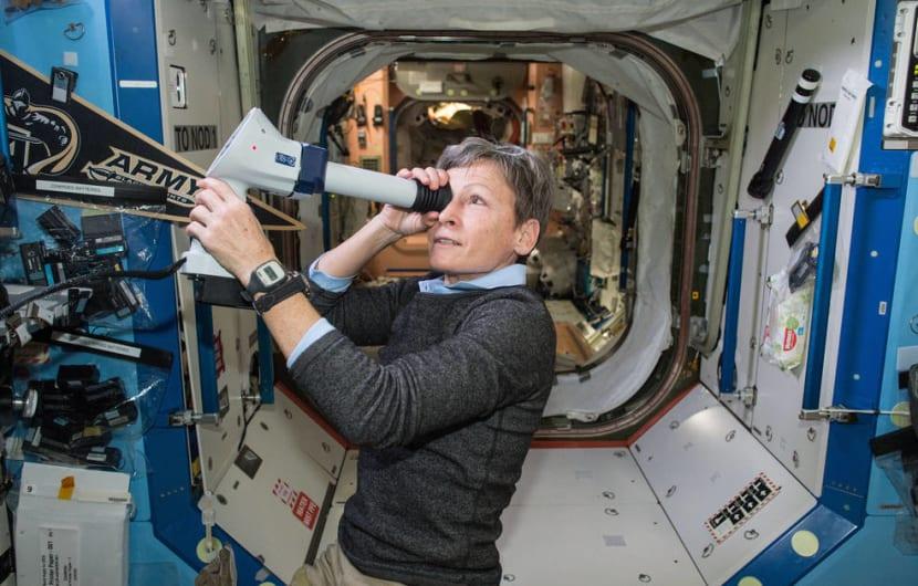 Bild von der ISS